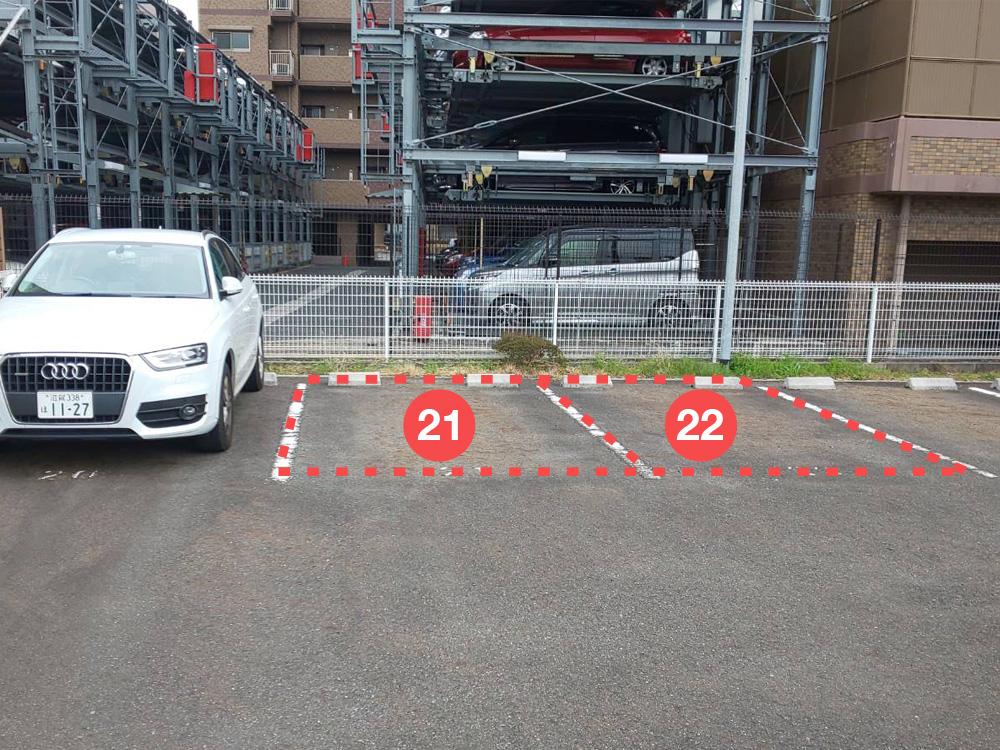 和鍼堂の駐車場03